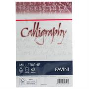 BUSTE CALLIGRAPHY 12X18 PZ.25 GR.100 BIANCO 01 A570427