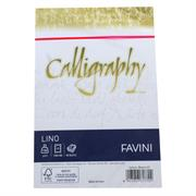 BUSTE CALLIGRAPHY 12X18 GR.120 PZ.25BIANCO 01 A570617
