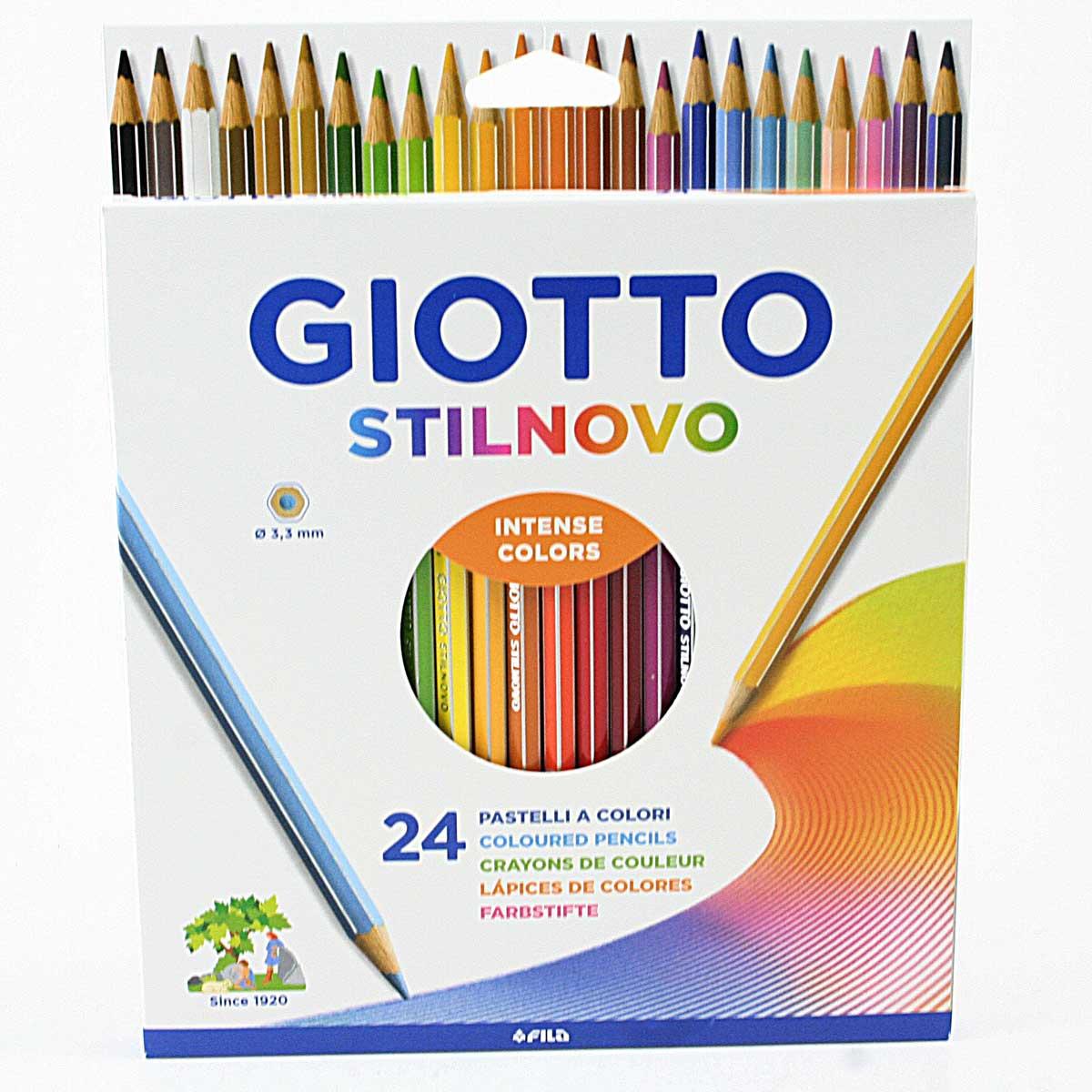 Astuccio Di Natura 36 Pastelli Colorati Giotto 240800 Astuccio Di Natura 12 Pastelli Colorati Multicolore /& 240600