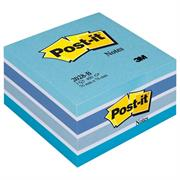 POST-IT 2028B/2055X 76X76 CUBO ACQUARELLE BLU 82392