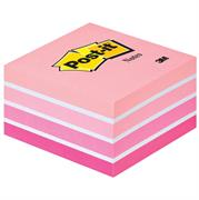 POST-IT 2028P 76X76 CUBO ACQUARELLE ROSA 82358